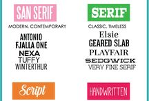 Fonts / A collection of fonts I find beautiful or useful in my work. Some are free, some are not.