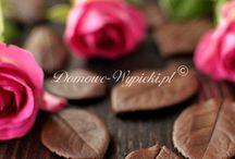 Dekoracje z czekolady