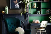 black furniture decor