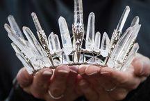 Fashion crown of crystals / hand made crown of crystals. Потрясающие короны, созданные вручную из натуральных камней и кристаллов от gemrock.ru