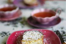 sweet food / Home made patisserie
