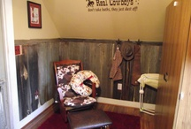 Cowboy/cowgirl nursery / by Sherry Bunch