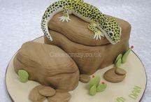 Gecko cake