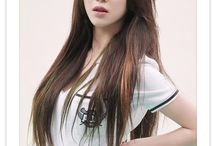 ☆AOA☆ Mina / Name: Kwon MinAh  Profession: Idol-Member in Girl Group AOA  Birth Date: 21-September-1993 Height: 160cm Weight: 43kg  Agency: FNC Entertainment