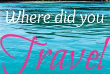 Other Travel Stuff / by Dawn Rettinger