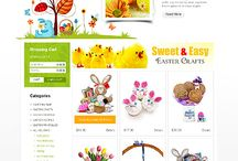 Easter Web Templates / Design Needs Time - Get Template Espresso! WebDesign inspirations at your coffee break: browse for more website premium templates!