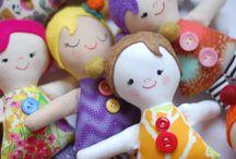 Bonecas de pano/feltro