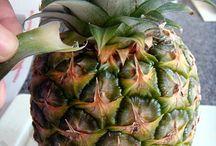 Fruits/pineapple / Inspirasjon: Lyse ideer