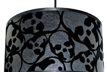 WALLPAPER LAMPSHADES / Handmade to order, statement Lampshades designed and handmade by Love Frankie