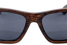 Cloudbreak Rectangular Wood Sunglasses / MakaWear Cloudbreak Rectangular Wood and Bamboo Sunglasses.