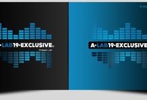 A.LAB 19.EXCLUSIVE / Professor Vjet a beat maker needed a logo to represent himself.