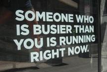 Running, etc.