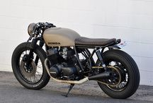 Cafe racer and brat style