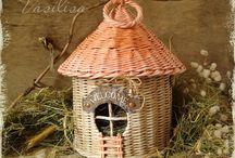 чайные домики плетение