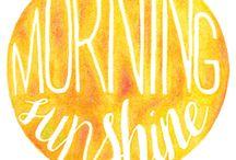 SUMMER / We love the sunshine!!!