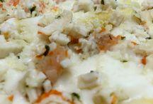 Lasagne alla polpa di granchio e gamberi / Ottime