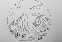 art / paintings and drawings