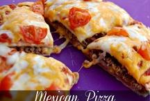 Food Pizza // taco // quesi..