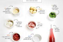 Receitas para cozinhar