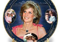 Princess Diana Collectibles / Lovely princess Diana collectible pieces: porcelain plates, portrait dolls, coins, magazines, autographs and more!