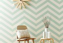 papier peint salon