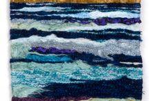 布 糸 アート