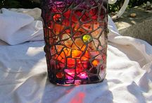 glass painting ideas / glass painting