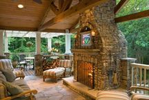 Outdoors - Porches, Patio, Hardscape / by Lori Harris