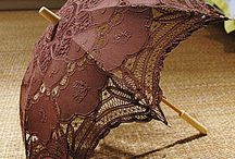 Steampunk umbrellas