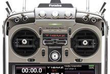 Futaba T18MZ 2.4 Ghz FASSTTest™ Radio