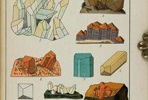 ásványos rajzok