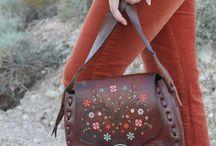 Boho leather things...