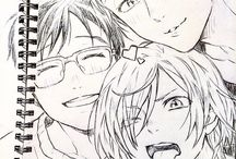 yurio , yuri e victor