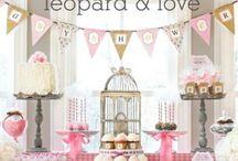 Leopard baby shower / Baby Shower Stuff;) / by CRISTINA LOPEZ<3