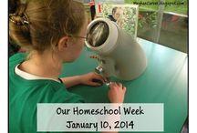Our Homeschool Weeks