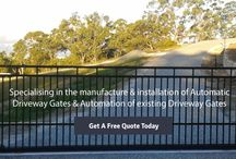 Automatic Electric Sliding Gate Openers / Access Control Technology supplies and installs a wide range of automatic, electric, sliding and driveway gates in Brisbane and surrounding areas. Call Today for a free quote on 0408-949-409.
