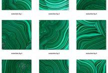 ideas malachite colors