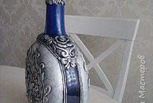 Бутылки Декор