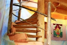 steiner wooden tree house