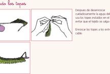 Tutoriales knit-crochet