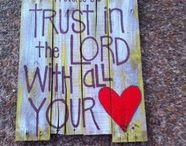 Love God, Love Others / Scripture board