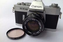 Canon EX EE QL Auto 35mm SLR Film W/EX 50mm f/1.8 Lens