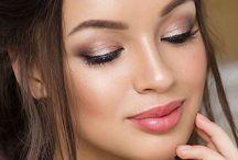 Maternity shoot makeup