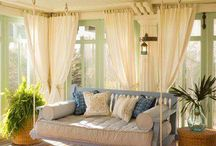 On The Porch / Design and decorating ideas for a porch / by Anne whitelacecottage
