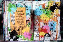 art journal donna downey