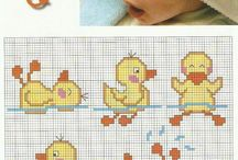 cross stich for babies