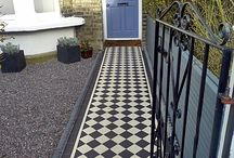 Front of house ideas - paths