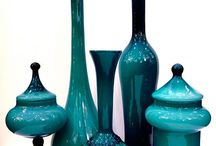 All Different types of glass jars in different shapes and sizes