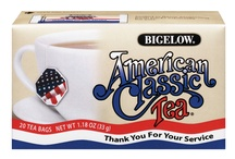 Tea For The Troops / American Classic Tea together with Bigelow Tea donate tea for our troops.