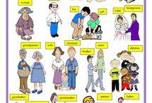 English Teaching Materials, worksheets etc